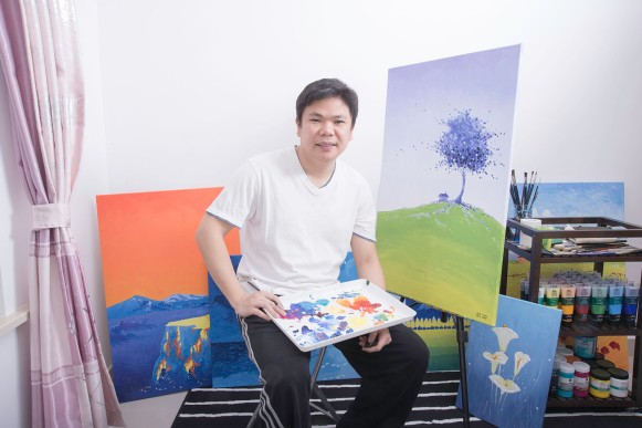 Artist Paul Chong